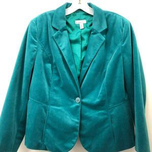 Kim Rogers Blur Single Button Career Blazer